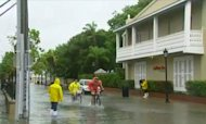 Tropical Storm Isaac Hits Florida Coast