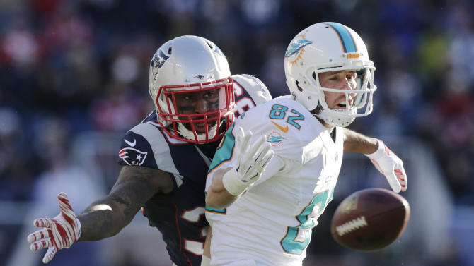 Receiver Brian Hartline released after 6 years with Dolphins
