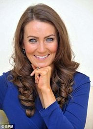 La doble de Kate Middleton, Heidi Agan via Daily Mail