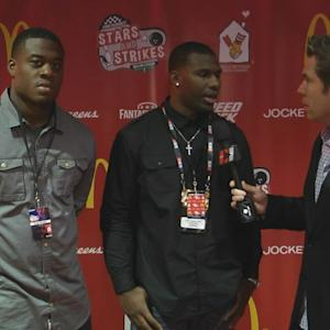 Louisville's Gerald Christian And Dominique Brown In Chicago For NFL Draft