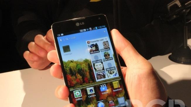 AT&T launches LG Optimus G on November 2nd for $199.99 with two-year contract