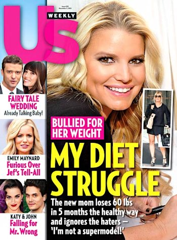 How Jessica Simpson Lost 60 Pounds in 5 Months