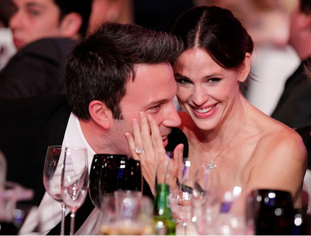 2011 Critics Choice Awards Ben affleck Jennifer Garner