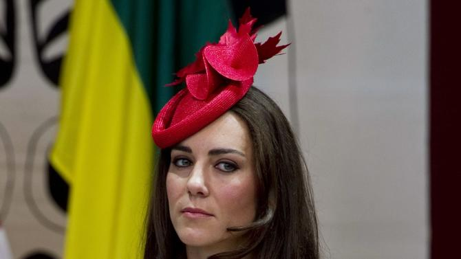 The Duchess of Cambridge, Kate,  listens to proceedings during a citizenship ceremony Friday, July 1, 2011 in Gatineau, Canada. (AP Photo/The Canadian Press,   Paul Chiasson)