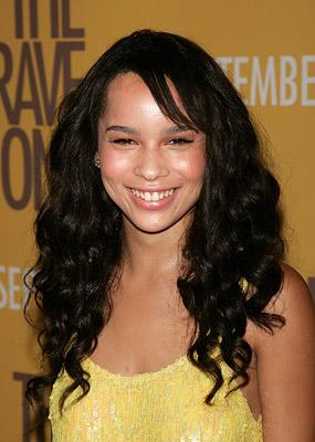 Zoe Kravitz at the New York City Premiere of Warner Bros. Pictures' The Brave One