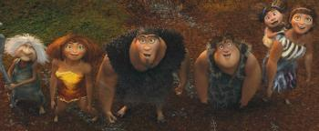 'The Croods' Review: Dazzling Fun Proves Even a Caveman Dad Can Evolve