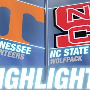 Tennessee vs NC State | 2014-15 ACC Men's Basketball Highlights