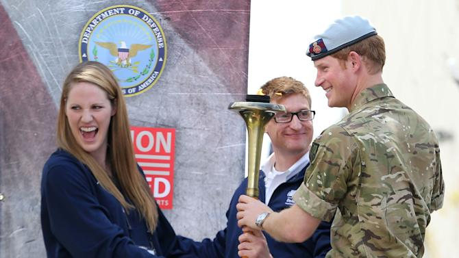 Prince Harry Visits The United States - Day Three