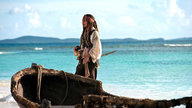 Pirates of the Caribbean On Stranger Tides Movie Stills 2011 Walt Disney Pictures Johnny Depp
