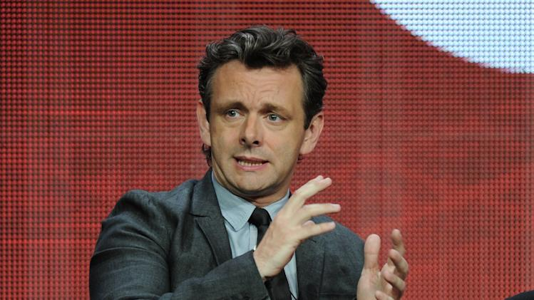 "Actor Michael Sheen participates in the ""Masters of Sex"" panel at the 2013 Showtime Summer TCA Press Tour at the Beverly Hilton Hotel on Tuesday, July 30, 2013 in Beverly Hills, Calif. (Photo by Frank Micelotta/Invision/AP)"