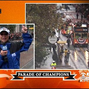 Barry Bonds 'Feeling Crazy' During World Series Parade