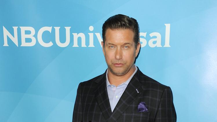 FILE - In this Jan. 6, 2013 file photo, Stephen Baldwin attends the NBC Universal Winter TCA Tour at the Langham Huntington Hotel in Pasadena, Calif. An attorney for Baldwin says the actor will turn over $100,000 on Friday, Oct. 18, 2013, toward his delinquent New York tax bill. (Photo by Richard Shotwell/Invision/AP)