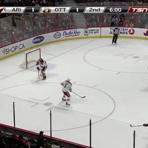 Mike Smith Save on Cody Ceci (14:00/2nd)