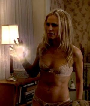 Anna Paquin Shows Off Toned Post-Baby Body in Lingerie on True Blood