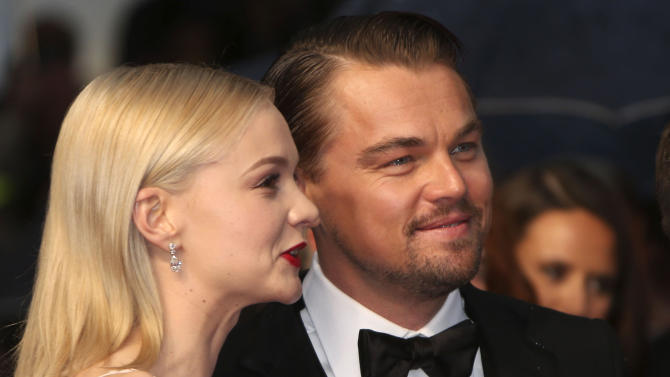Actors Carey Mulligan and Leonardo DiCaprio arrive for the opening ceremony and the screening of The Great Gatsby at the 66th international film festival, in Cannes, southern France, Wednesday, May 15, 2013. (Photo by Joel Ryan/Invision/AP)