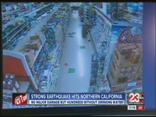 Earthquake hits California