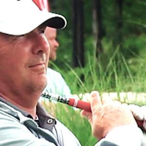 Ohio State Football Coach Urban Meyer's Golf Swing