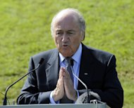 Sepp Blatter feels a future Team GB in Olympic football will be a 'difficult task'