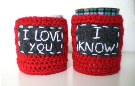 Star Wars Inspired His and Hers Cup Cozies