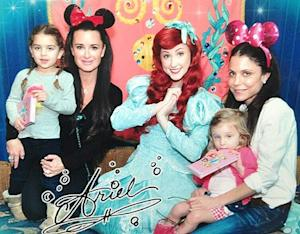 Bethenny Frankel, Kyle Richards Have Fun Mother-Daughter Day at Disneyland: Picture