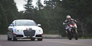 [VIDEO] Audi RS5 Coupe VS Ducati Multistrada 1200S
