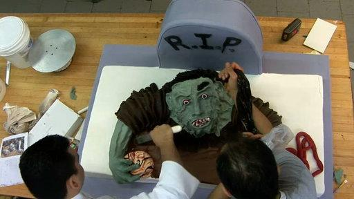 Making the Zombie Cake