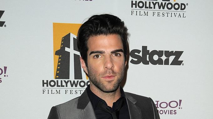 13th Annual Hollywood Awards Gala 2009 Zachary Quinto