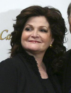 """FILE - In this March 10, 2008 file photo, actress Faith Prince appears at a news conference for the Broadway production of """"A Catered Affair,"""" in New York. Prince will soon be getting in touch with her mean side _ she's about to play Miss Hannigan in the """"Annie"""" revival on Broadway. Prince, who will begin performances on July 19, won a Tony Award in 1992 for """"Guys and Dolls"""" and was nominated three other times for """"A Catered Affair,"""" """"Bells Are Ringing"""" and """"Jerome Robbins' Broadway."""" Emmy Award-winning """"Glee"""" star Jane Lynch will play her final performance as Miss Hannigan on July 14. (AP Photo/Mary Altaffer, file)"""