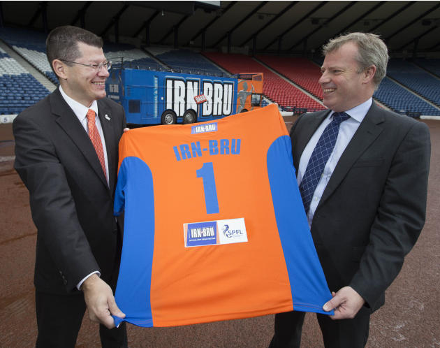 Soccer - IRN BRU Sponsorship Announcement - Hampden Park