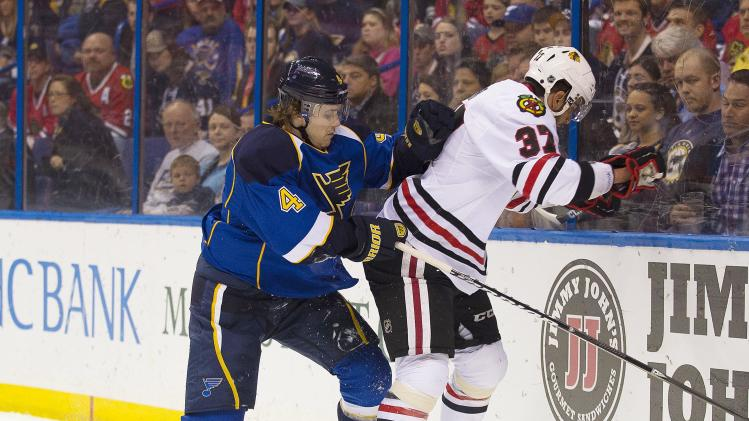 NHL: Chicago Blackhawks at St. Louis Blues