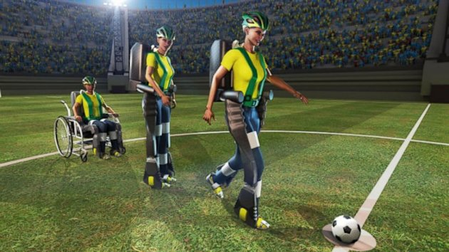Brain-Controlled Kick to Open This Year's World Cup Soccer (ABC News)