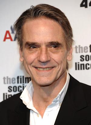"""FILE - In this April 27, 2009 file photo, actor Jeremy Irons attends The Film Society of Lincoln Center gala tribute to honor actor Tom Hanks at Alice Tully Hall in New York. Irons is dropping into """"Law & Order: Special Victims Unit"""" to guest star as a sex therapist. A spokeswoman for the NBC crime drama said Friday, Dec. 3, 2010, that Irons' character runs a sex addiction clinic in the episode to be filmed later this month. It's set to air in early 2011. (AP Photo/Evan Agostini, file)"""