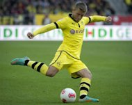 Dortmund's Polish midfielder Jakub Blaszczykowski in the German first division Bundesliga football match against Hannover 96 at the AWD arena in Hanover on October 7, 2012. The match ended in a 1-1 draw. Dortmund have been hit by a string of injuries with Mats Hummels, Sven Bender and Jakub Blaszczykowski, all out of action after receiving knocks during the match