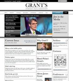 Grant's Interest Rate Observer Announces New Website to Add Value to Current and Future Subscribers