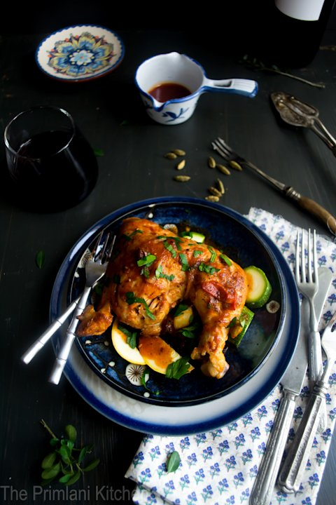 Moroccan Chicken with Vegetables