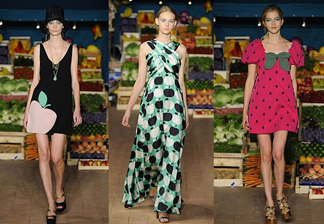 Chery Cole, Anna Dello Russo and Alexa Chung Make Fruits The New Florals!