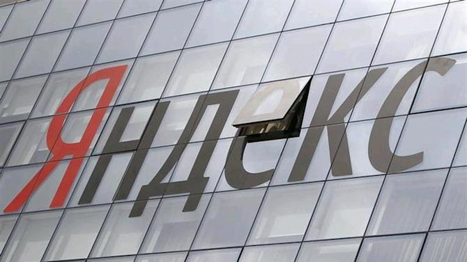 The company logo is seen on the headquarters building of Yandex company, in Moscow June 14, 2012. REUTERS/Maxim Shemetov/Files