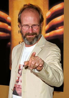 William Hurt at the NY premiere of Touchstone's The Village