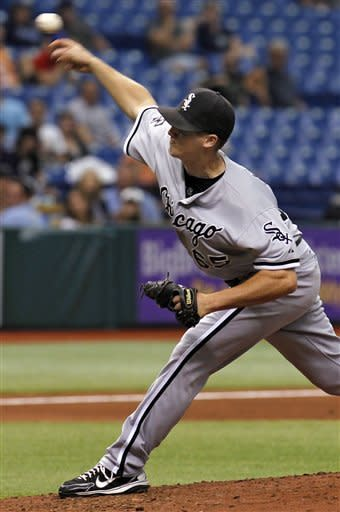 White Sox beat Rays for 8th straight win