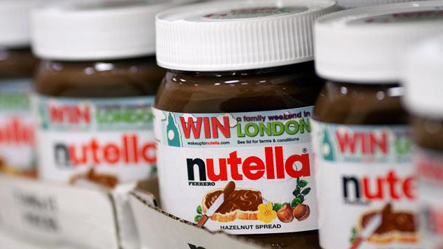 11,000 Pounds of Nutella Stolen