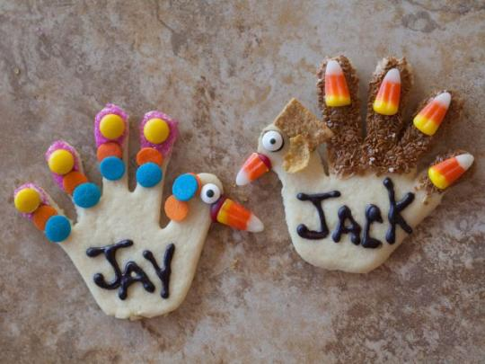 Fun Edible Thanksgiving Food Projects for Kids