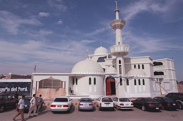 Mosque in Tacna, Peru