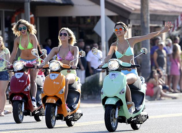 Spring Breakers Filming