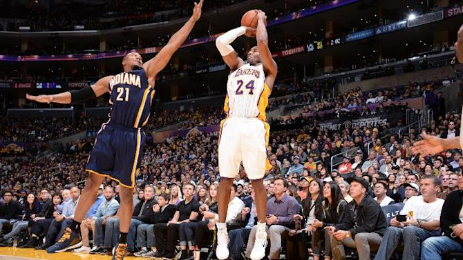 Kobe Bryant rallies Lakers past Pacers, 88-87