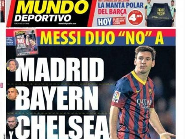 Euro Papers: Do Adidas want Messi move?