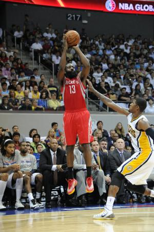 Rockets beat Pacers 116-96 in 1st game in Manila