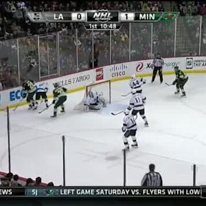 Jonathan Quick Save on Ryan Suter (09:11/1st)