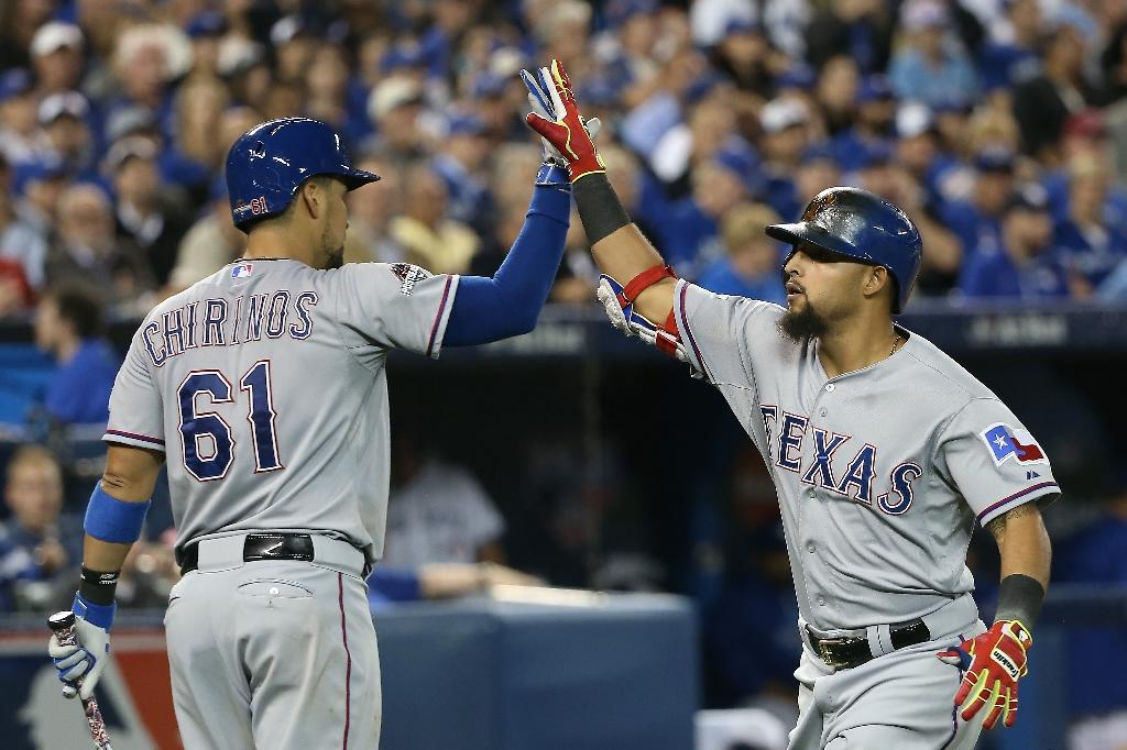 Baseball's Rangers solve Price to take game one from Jays