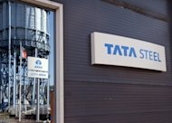 India's Tata Steel, the world's seventh-largest steelmaker, said Friday quarterly net profit plunged 90 percent from a year earlier, hit by high input costs and falling demand in its key European market