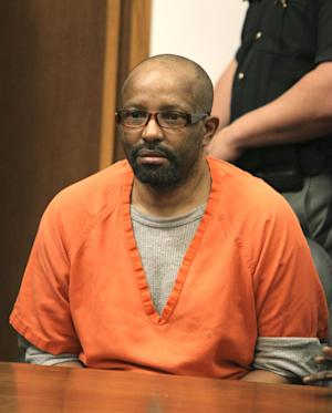 Anthony Sowell sits in the courtroom before the jury recommended the death penalty for Sowell Wednesday, August 10, 2011 in Cleveland. Sowell was convicted July 22 of aggravated murder in 11 women's deaths.  (AP Photo/The Plain Dealer, Marvin Fong, Pool)